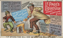 Advert for Le Page's liquid glue